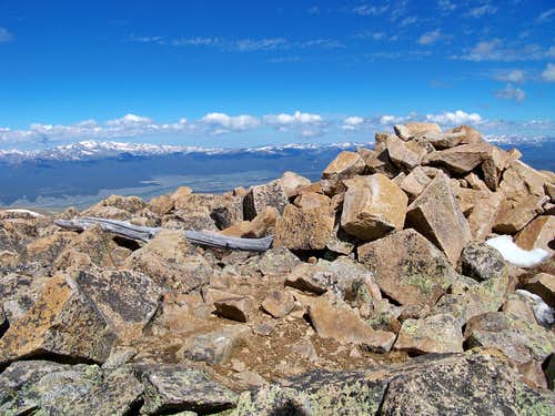 Ptarmigan Peak summit cairn