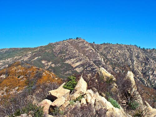 La Cumbre Peak seen from the summit