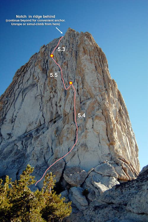 Matthes Crest Headwall (Photo Topo)