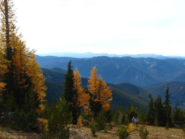 Ascending Graham Mountain