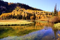 Fall colors at Silver Lake