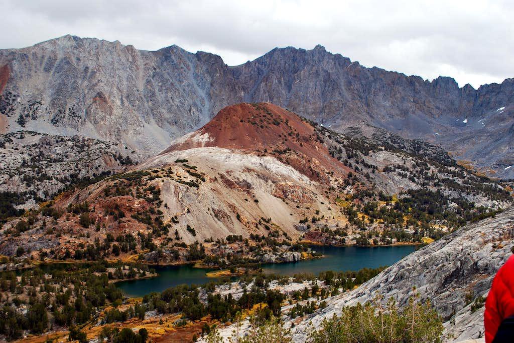 Chocalate Peak from the shoulder of Hurd Peak. October 2010