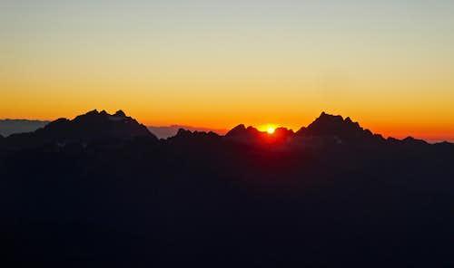 Sunset On White Chuck