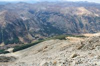 From Huron Peak