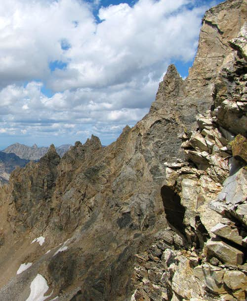 West face of Middle Teton