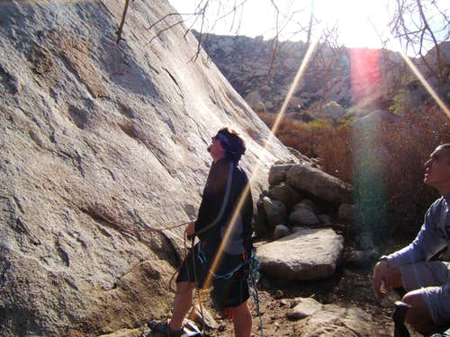 Belaying the Trough