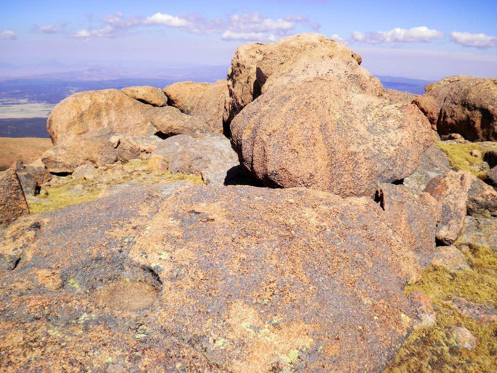 Boulders Near Summit