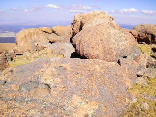 Boulders Near Summit