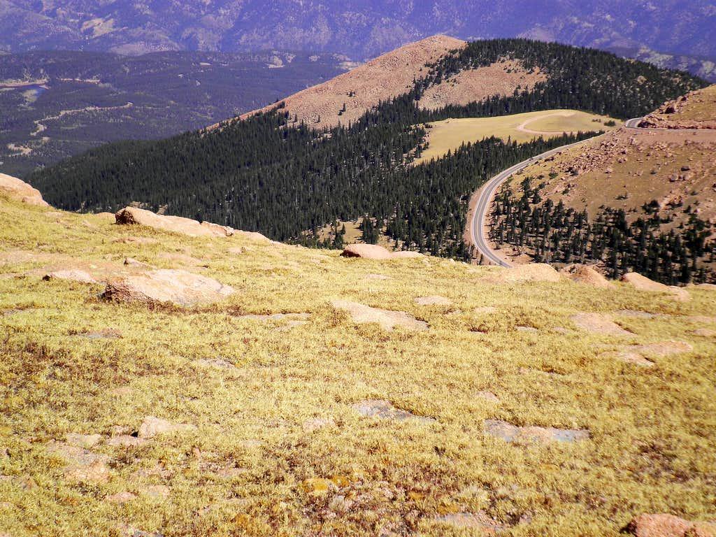 Elk Knoll from Summit
