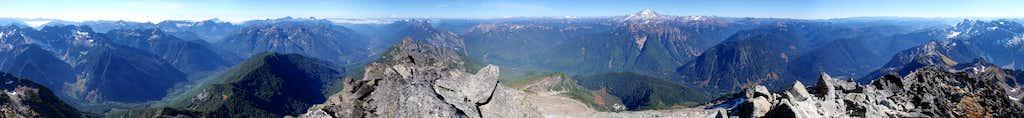 Sloan Peak 360° View