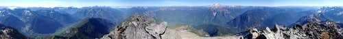 Sloan Peak 360° View