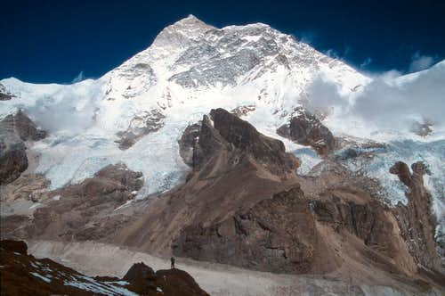 South face of Makalu