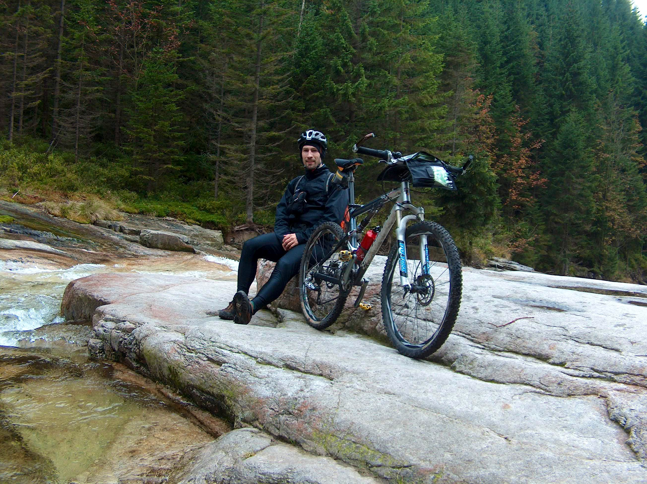 Autumnal bike explorations of the Czech Krkonoše