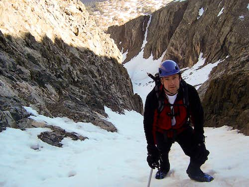 Refrigerator Couloir - Ice Mountain