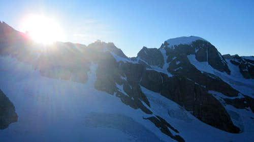 Battle with Gannett Peak