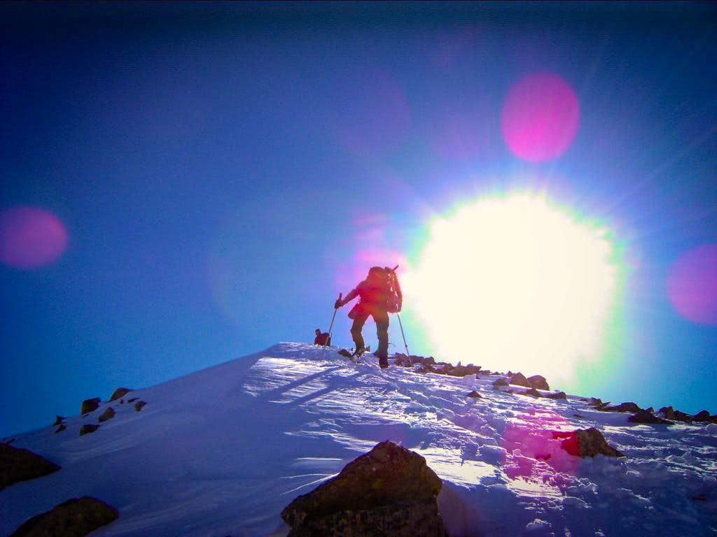 Snowy Ridge to Atlantic Peak