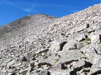 Boulders Below Summit