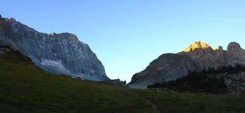 Early morning, Capitol Peak approach