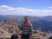 kq6ee55-hiked up to Quandary...