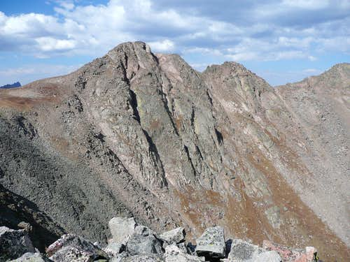 Peak Z, south face