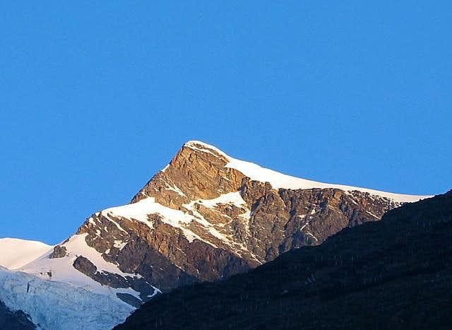 Ulrichshorn (3925m) seen from...