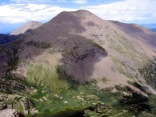Humboldt Peak seen from the...