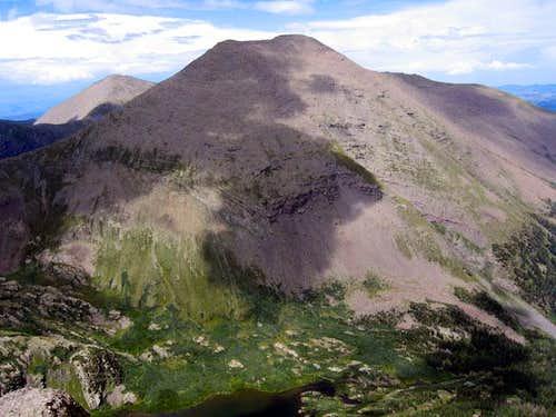 Humboldt Peak seen from the...