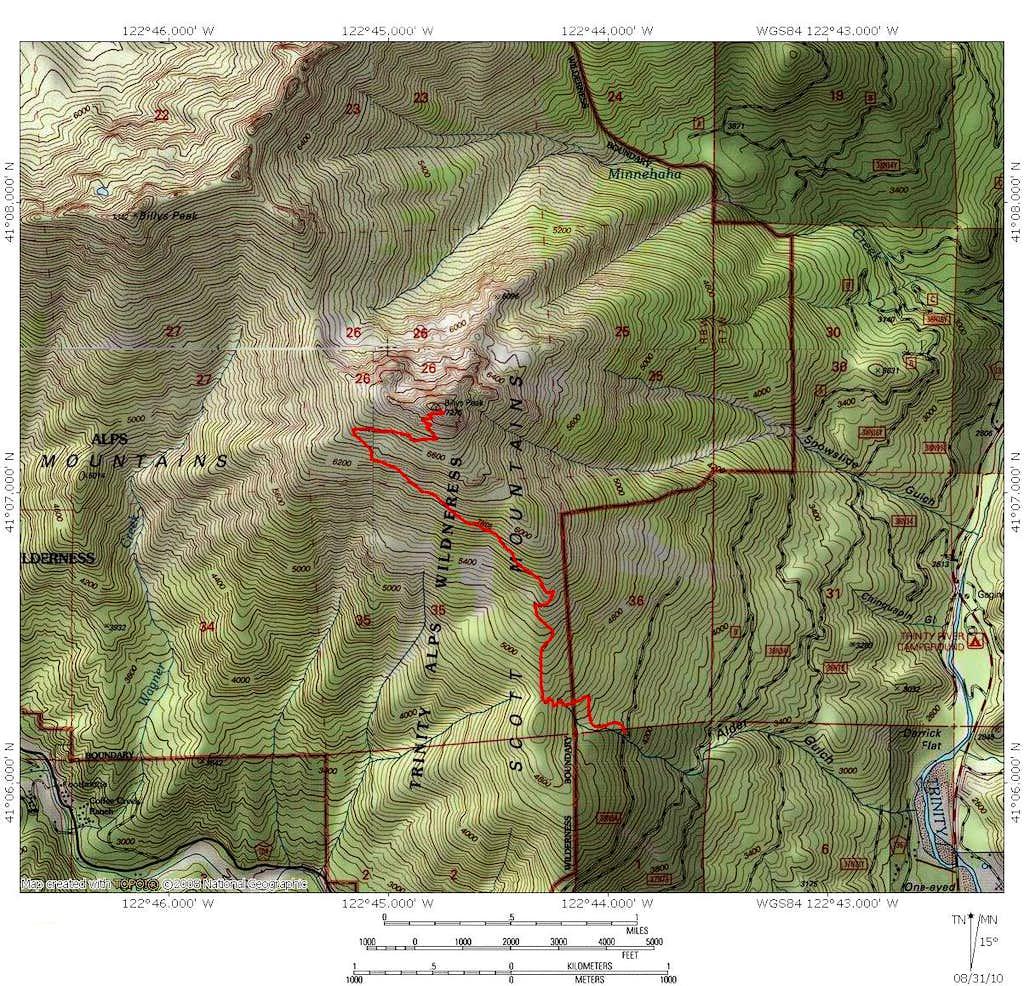 Billys Peak Lookout