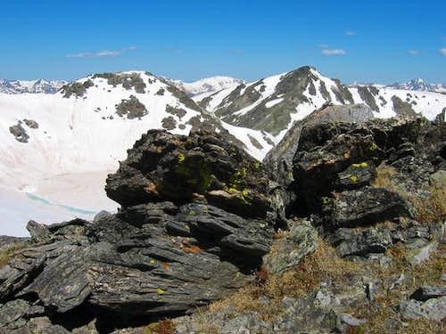 Looking back at Mt Ida and...