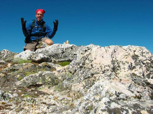 Me on the summit.  June 28,...