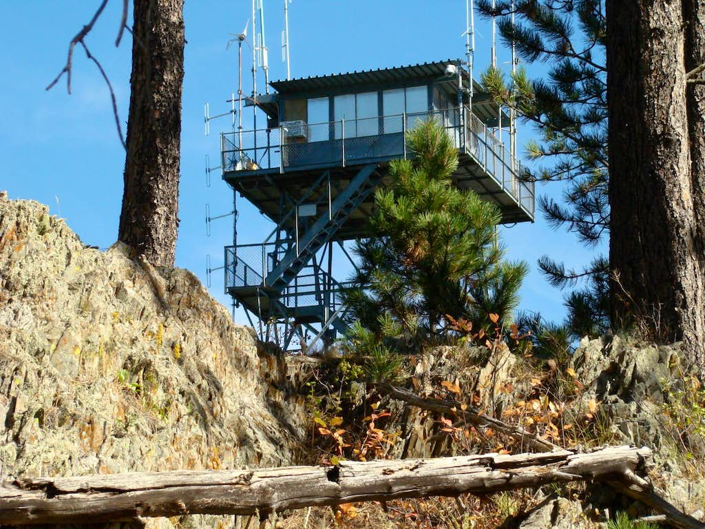 Seth Bullock Lookout Tower