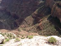Switchback after Switchback  on the Bright Angel Trail