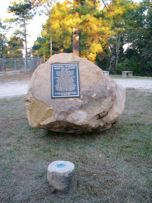 New Woodall Mtn. Monument