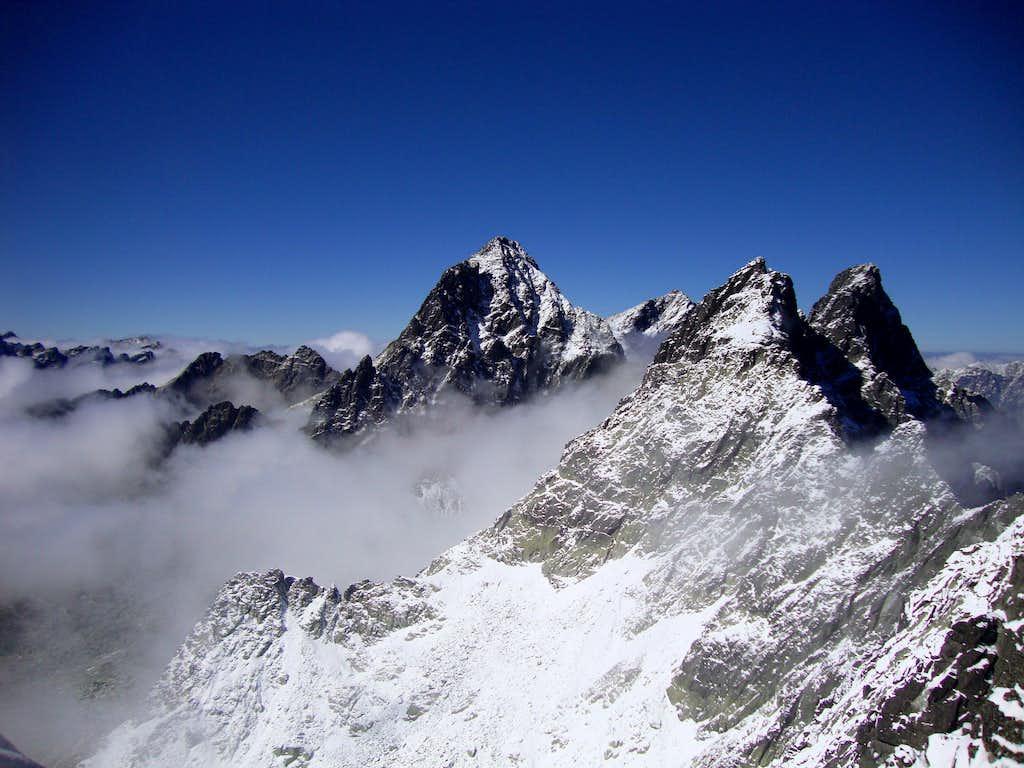 Panorama from view from Sedlo pod Drúkom