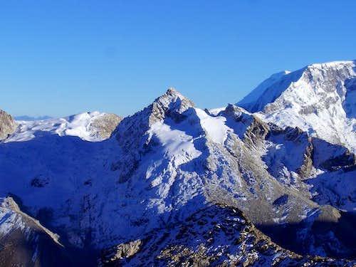 The Urus Este (5420m) from...