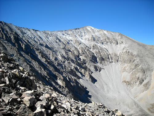 Northeast face of Mt. Antero