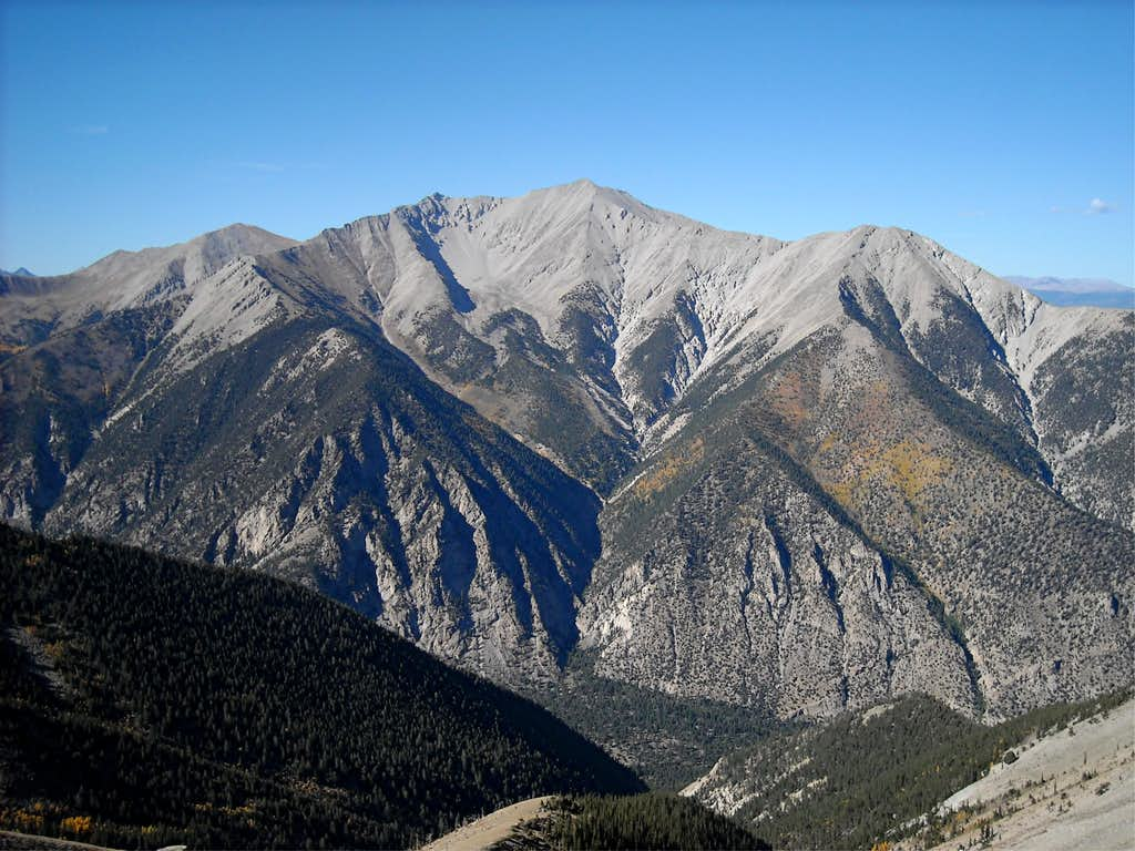 Mt. Princeton in the mid-afternoon