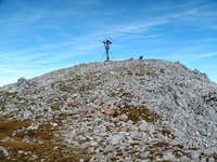 The summit of the Kahlersberg on 2350 meters