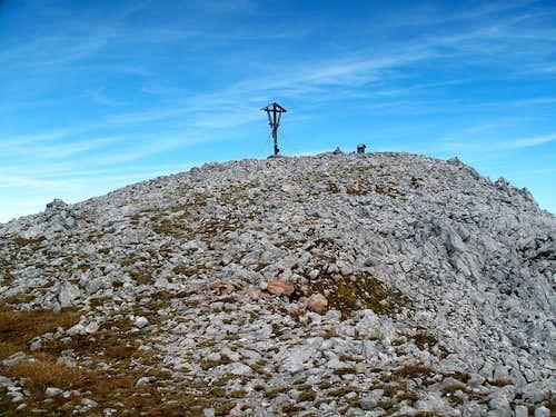 The summit of the Kahlersberg on 2350 meters