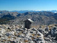 The summit mailbox on Kahlersberg