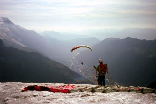 Paragliding in early 1990\'s