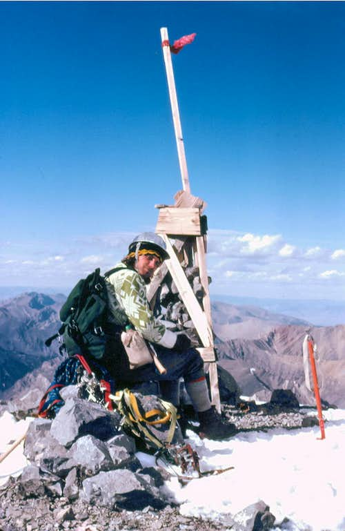 Mt Borah Summit