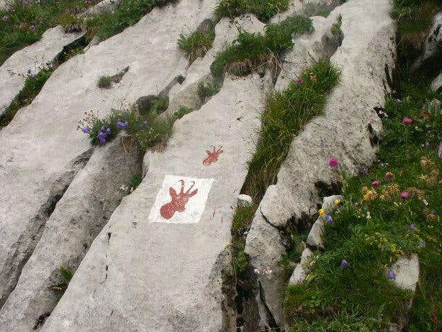 Cornettes de Bise - The marks...