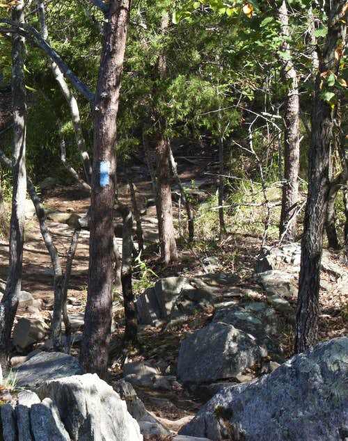 Just the beginning of the Billy Goat Trail