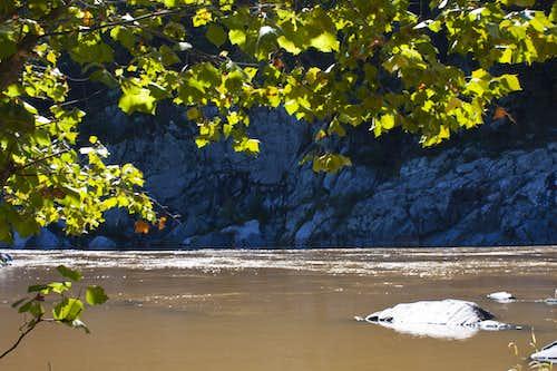A Calm River Spot in the Gorge