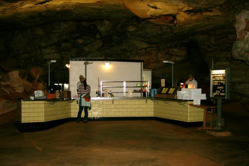 The Cafe in Mammoth Cave