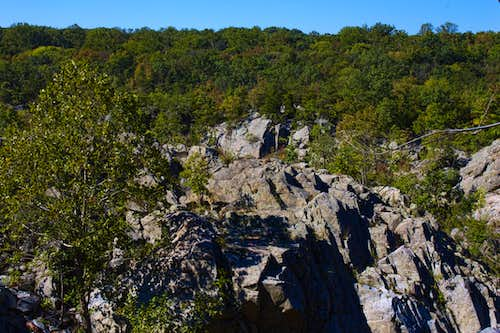 Typical of the Rocks Found Along the Billy Goat Trail