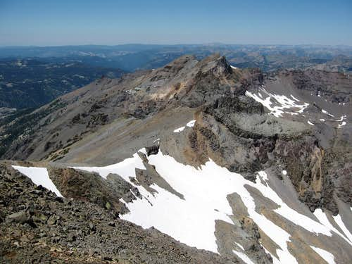 West of Leavitt Peak