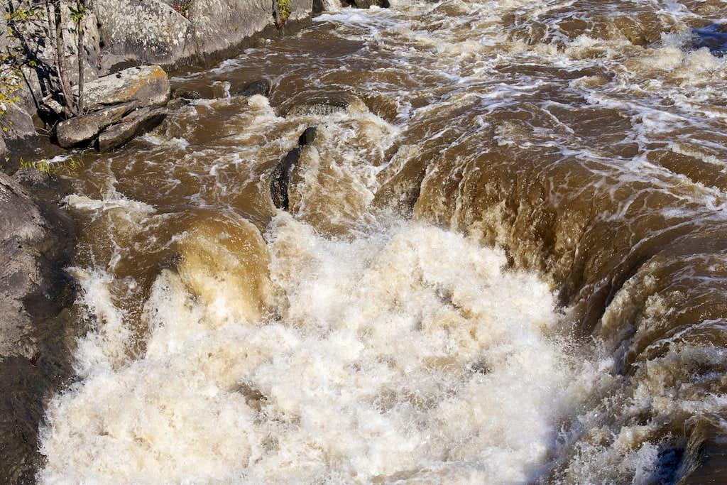 Churning Hole on the Potomac