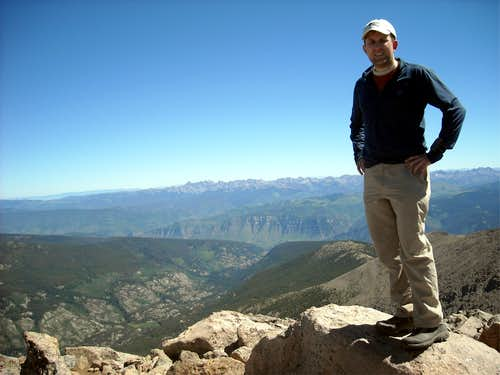 Me on the Holy Cross Summit